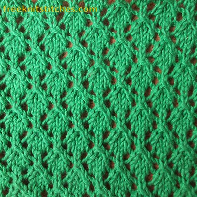 Knitting Lace Patterns Free : Knitting stitch patterns lace Net Lace