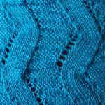 knitting lace Lightning-like