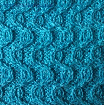 SIMPLE LACE STITCH KNITTING Free Knitting Projects