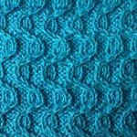twisted knit stitch Berry field