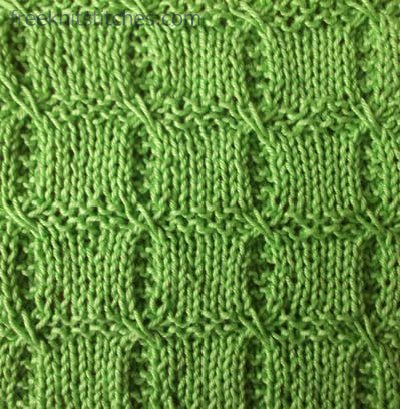 How To Basic Loom Knitting Stitches Pictures to pin on Pinterest