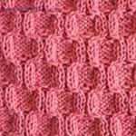 knit ribbing Honeycombs