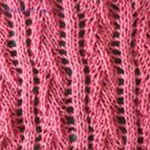knitted stitch Hem-stitch