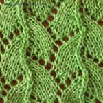 eyelet knit Serpent