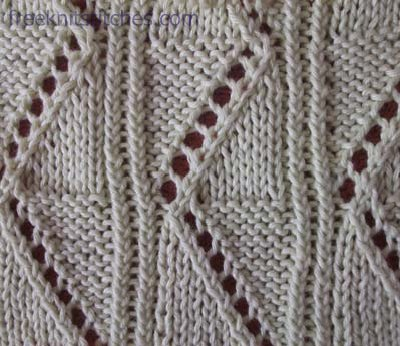 Carpet  knitting stitches