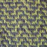 two color knit scarf pattern Labyrinth
