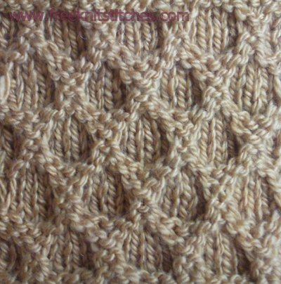stitch patterns for knitting Reticular