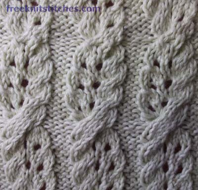 Twist Stitch Knitting Challah