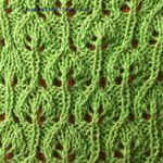 how to knit lace patterns for beginners Bush