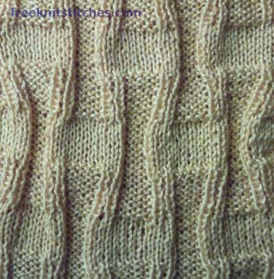 purl stitch for beginners Stony