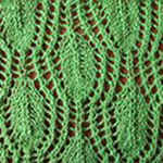 knitting for beginners Spring foliage