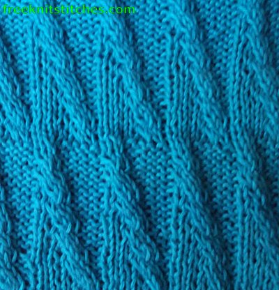 easy knitting projects Scallop