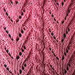 free knitting pattern Thin twigs