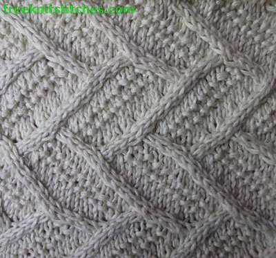 knitting casting on Parquet