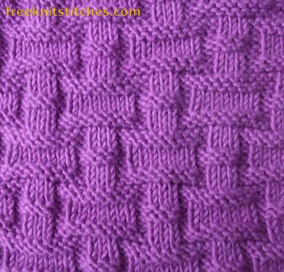 Knitting Stitches Gallery : Purl knitting Castle