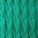 purl stitch scarf Sea surf
