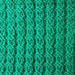 ribbed pattern Boucle