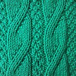 learn to knit Twisted Rib