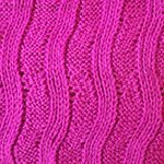 vertical knitting patterns Wave Rib