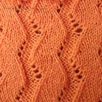 knitting designs with eyelets Furrow