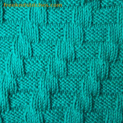 easy knit blanket pattern for beginners Interlacement