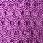 free dimond pattern to knit Folds
