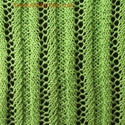 what is rib stitch in knitting Grid Rib