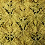 lace knitting stitch patterns Alder