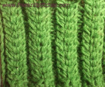 Cereals knitting stitches