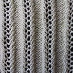 knitting elastic Lace Rib 3