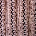 knit ribbing pattern Lace Rib 5