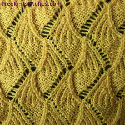 open work lace knitting stitches Cookies