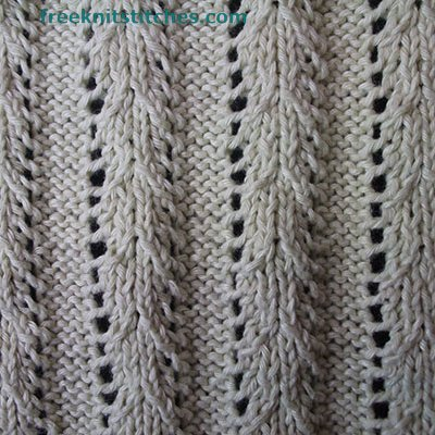how to knit rib stitch Centipede Rib