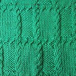 knitting wallpaper Cells with Braiding