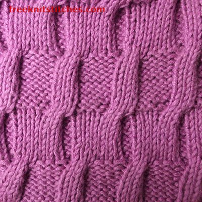 LIBRARY OF KNITTING STITCHES Free Knitting Projects