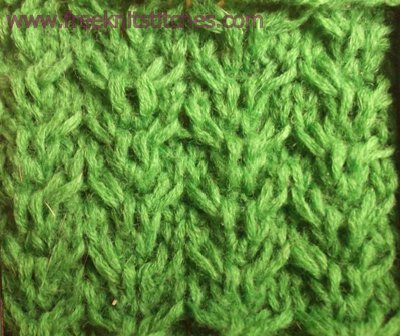 knitting stitch patterns Ripples