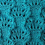 wave stitch pattern Sea Scallop