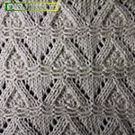 different knit stitches Creeping Line