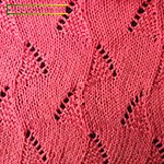 knitting lace patterns free Triangles