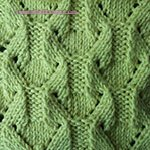 diamond knitting pattern Diamond Shape