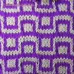 two color knitting patterns Checkbox