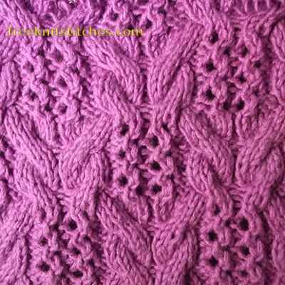 Strand knitting stitches