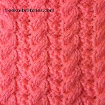 Knitting Cable Stitch Dictionary : Knit patterns for beginners Bilateral Braids
