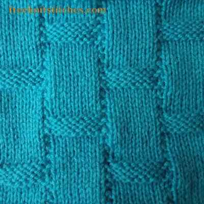 Knit And Purl Stitches Patterns : Textured knit stitches Candy