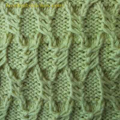 different knit stitch patterns Scales