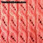 different knitting styles Lollipop Rib