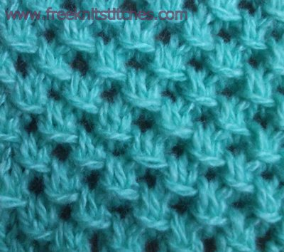 Slip Stitch Knitting Patterns For Beginners : KNIT PATTERN STITCHES 1000 Free Patterns