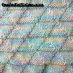 knitting purl stitch Trihedral