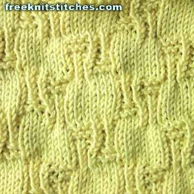 Plexus knitting stitches