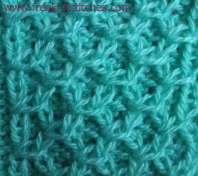 Slipped Knitting Stitches Patterns Free